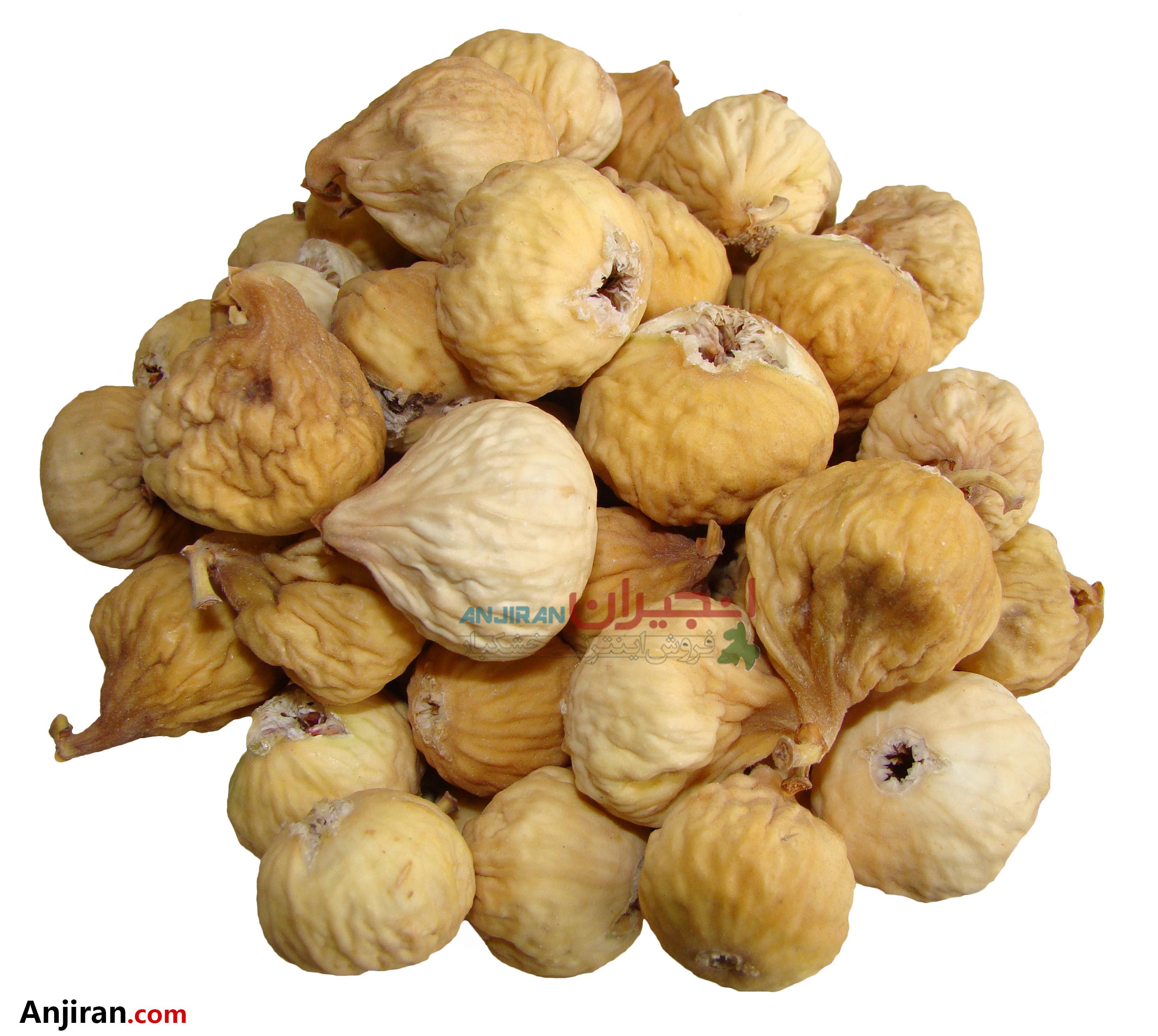 انجیر خشک صدیک - صد ویک AA - Superior Dried Figs